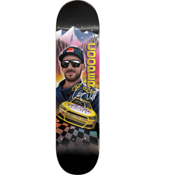 "Almost Skateboards Cooper Wilt Talladega Skateboard Deck Resin-7 - 8.25"" x 31.9"""