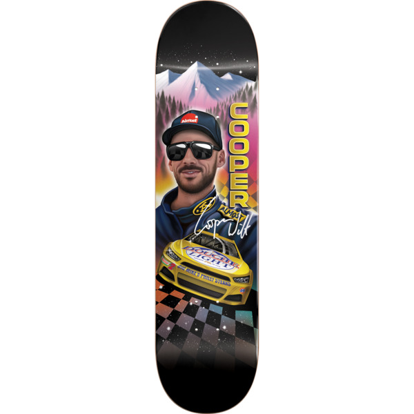 "Almost Skateboards Cooper Wilt Talladega Slick Skateboard Deck Resin-7 - 8.25"" x 31.9"""