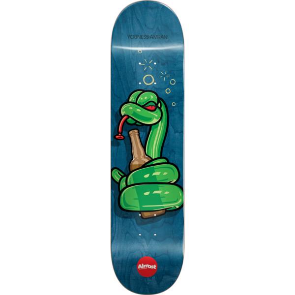 "Almost Skateboards Youness Amrani Balloon Animals Blue Skateboard Deck Resin-7 - 8.25"" x 31.9"""
