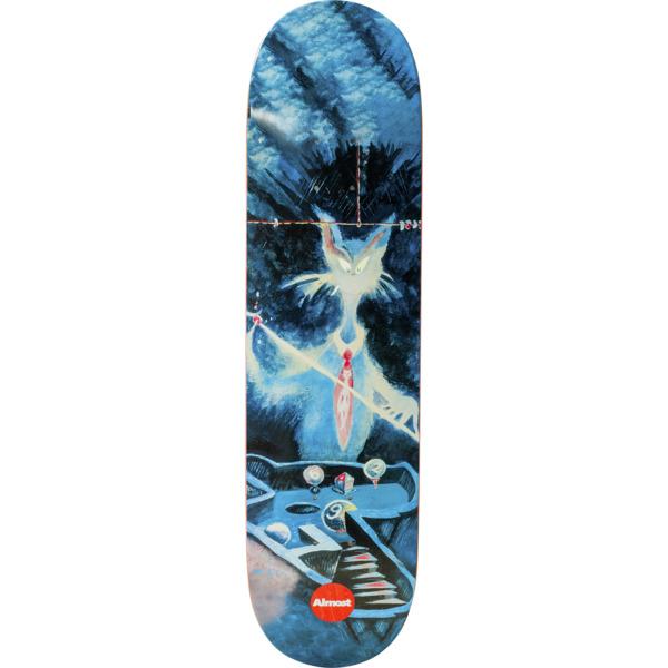 "Almost Skateboards Youness Amrani Dr. Seuss Art Skateboard Deck Resin-7 - 8.12"" x 31.8"""