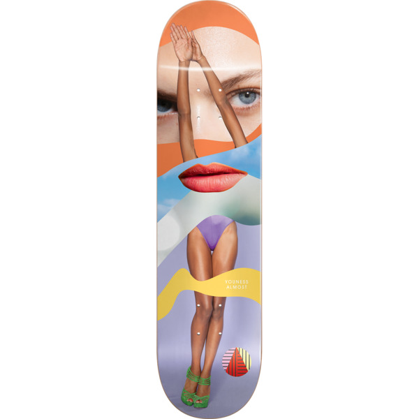 "Almost Skateboards Youness Amrani Girl Collage Skateboard Deck Resin-7 - 8.25"" x 31.9"""
