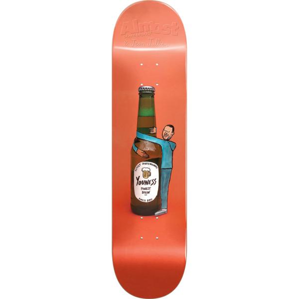 "Almost Skateboards Youness Amrani JJ Cutout Skateboard Deck Resin-7 - 8"" x 31.6"""