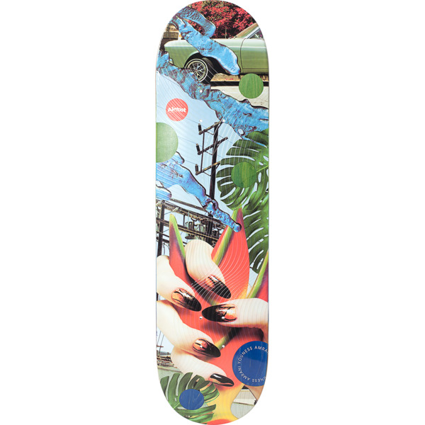 "Almost Skateboards Youness Amrani Nonsense Skateboard Deck Resin-7 - 8.25"" x 31.9"""