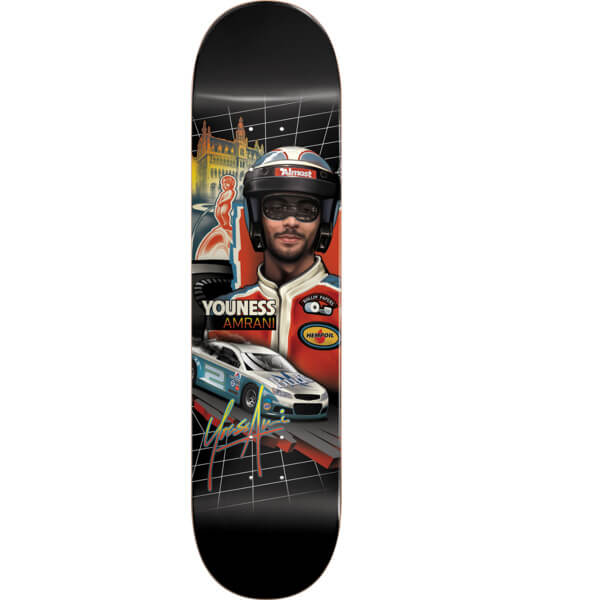 "Almost Skateboards Youness Amrani Talladega Skateboard Deck Resin-7 - 8"" x 31.8"""