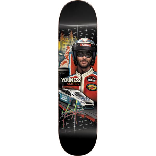 "Almost Skateboards Youness Amrani Talladega Skateboard Deck Resin-7 - 8"" x 31.7"""