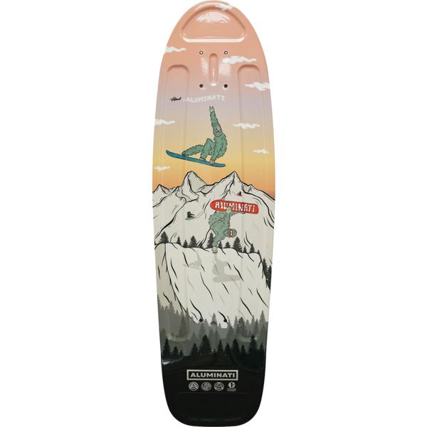 """Aluminati Skateboards Ripping Yeti Cruiser Skateboard Deck Jerry - 8.12"""" x 28"""""""