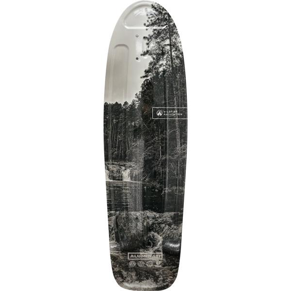 "Aluminati Skateboards Wildfire Cruiser Skateboard Deck Jerry - 8.12"" x 28"""