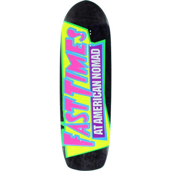 "American Nomad Skateboards Fast Times Skateboard Deck - 9.5"" x 33.25"""