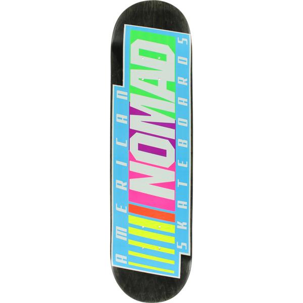 """American Nomad Skateboards NASCAR Assorted Colors Skateboard Deck - 8.5"""" x 32.75"""""""