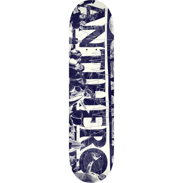 "Anti Hero Skateboards Quarter White Skateboard Deck - 8.25"" x 32"""