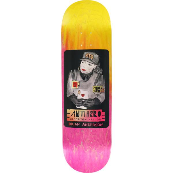 "Anti Hero Skateboards Brian Anderson BA 2084 Skateboard Deck - 8.75"" x 32.55"""
