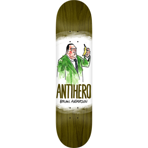 "Anti Hero Skateboards Brian Anderson Devolution Skateboard Deck - 8.12"" x 31.38"""