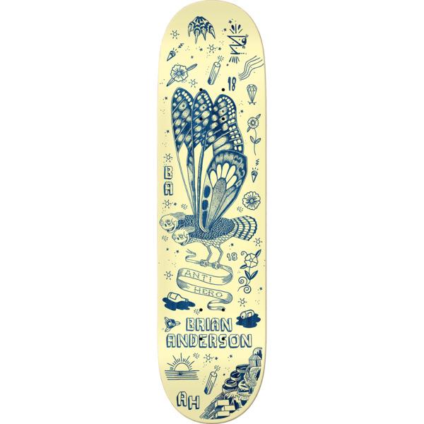 "Anti Hero Skateboards Brian Anderson We Fly II Skateboard Deck - 8.5"" x 32.62"""
