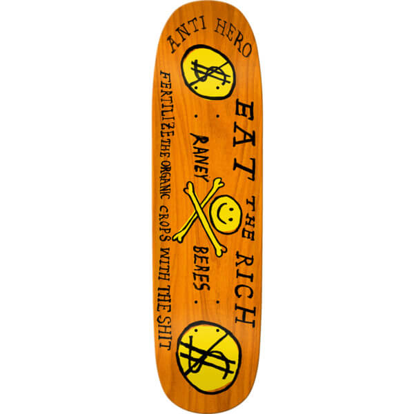 Anti Hero Skateboards Eat the Rich Deck
