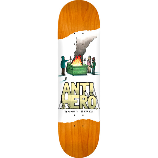 "Anti Hero Skateboards Raney Beres Expressions Assorted Colors Skateboard Deck - 8.75"" x 32.75"""