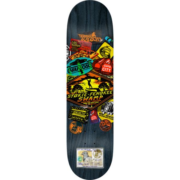 "Anti Hero Skateboards Raney Beres Park Board Skateboard Deck - 8.4"" x 32"""