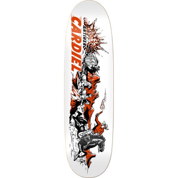 "Anti Hero Skateboards John Cardiel Getaway Sticks Skateboard Deck - 9.18"" x 32.62"""