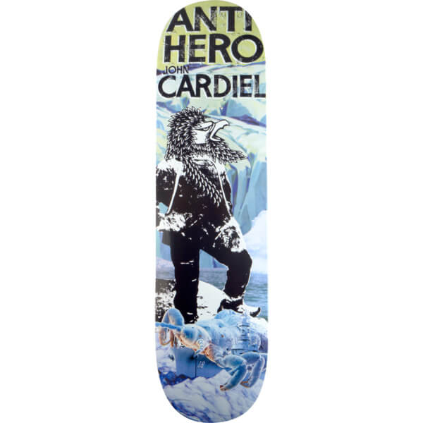 Anti Hero Skateboards Wild Unknown Pro Series Deck