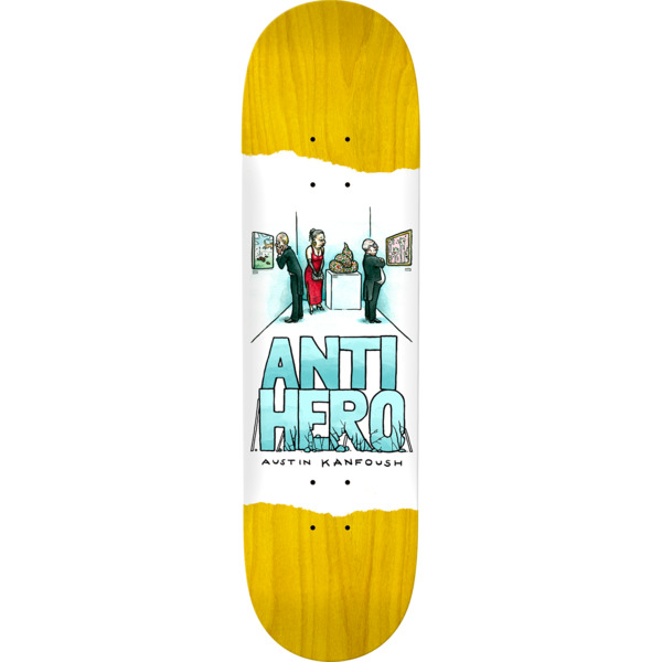 "Anti Hero Skateboards Austin Kanfoush Expressions Assorted Colors Skateboard Deck - 8.4"" x 32"""
