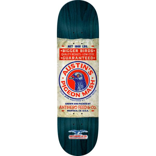 "Anti Hero Skateboards Austin Kanfoush General Merchantile Skateboard Deck - 8.06"" x 31.8"""