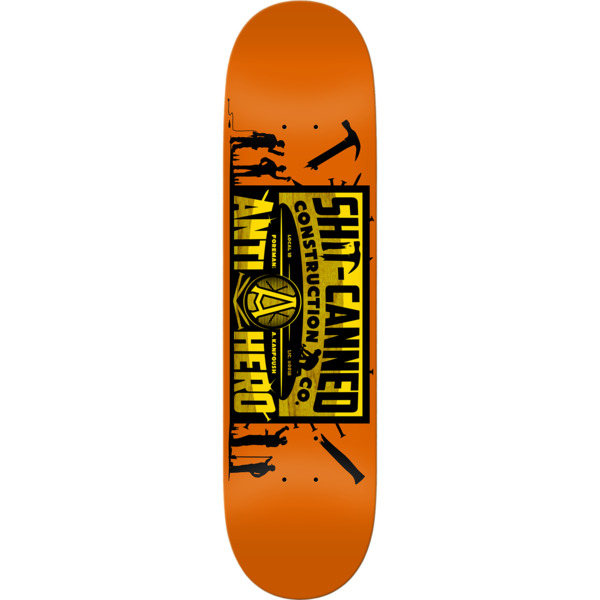"Anti Hero Skateboards Austin Kanfoush Shitcan Skateboard Deck - 8.28"" x 31.7"""