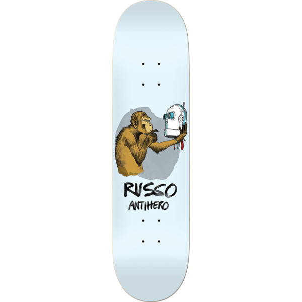 "Anti Hero Skateboards Robbie Russo Blind leading the Blinder Skateboard Deck - 8.25"" x 32"""