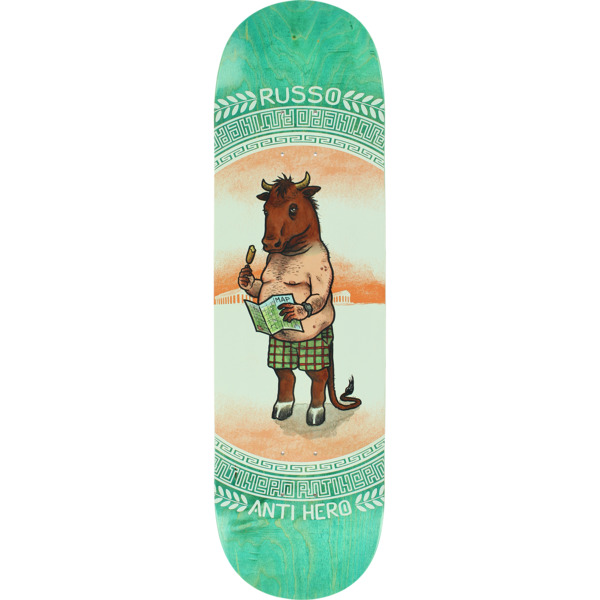 "Anti Hero Skateboards Robbie Russo Legends Skateboard Deck - 8.62"" x 32.56"""