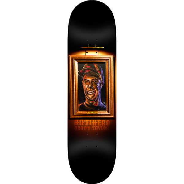 "Anti Hero Skateboards Grant Taylor Black Velvet Skateboard Deck - 8.62"" x 32.56"""