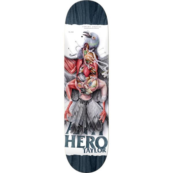 "Anti Hero Skateboards Grant Taylor Street Anatomy Skateboard Deck - 8.5"" x 32.5"""