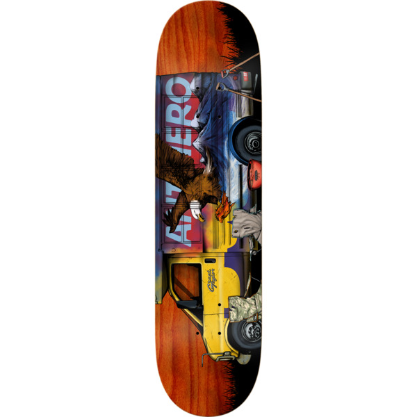 "Anti Hero Skateboards Grant Taylor Vanatics Skateboard Deck - 8.5"" x 32.62"""