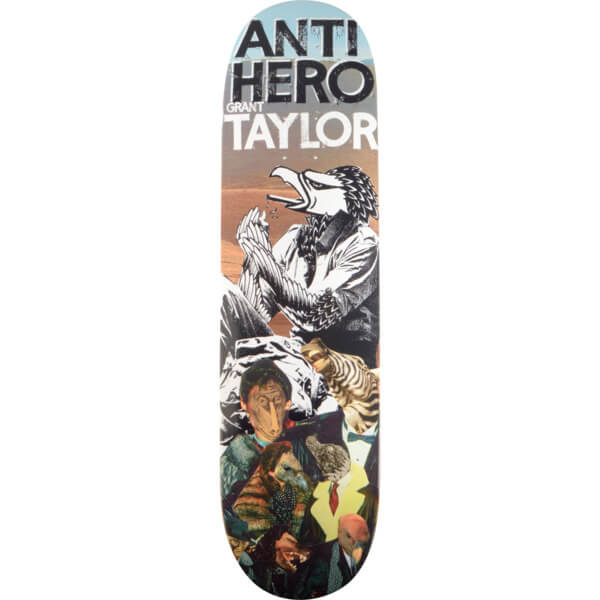 Anti Hero Skateboards Wild Unknown Pro Series Deck