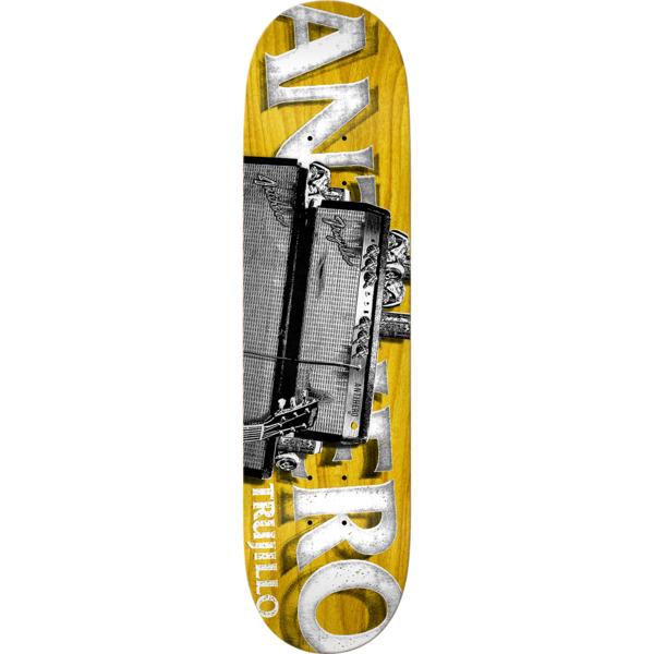 """Anti Hero Skateboards Tony Trujillo Turned Up Skateboard Deck - 8.12"""" x 31.38"""""""