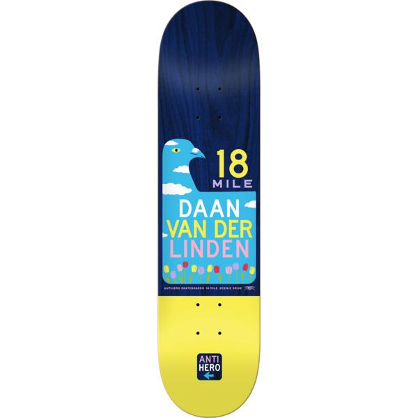 """Anti Hero Skateboards Daan Van Der Linden Scenic Drive II Skateboard Deck - 8.06"""" x 31.8"""""""