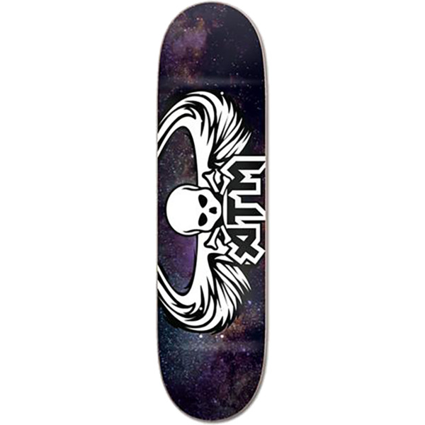 "ATM Skateboards Galaxy Wings Skateboard Deck - 7.75"" x 31.875"""
