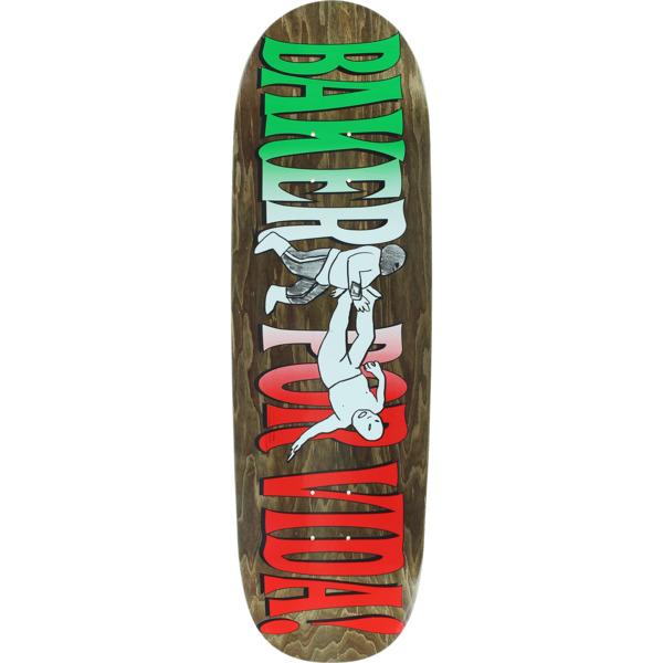 """Baker Skateboards Por Vida Skateboard Deck - 9.25"""" x 31.5"""""""