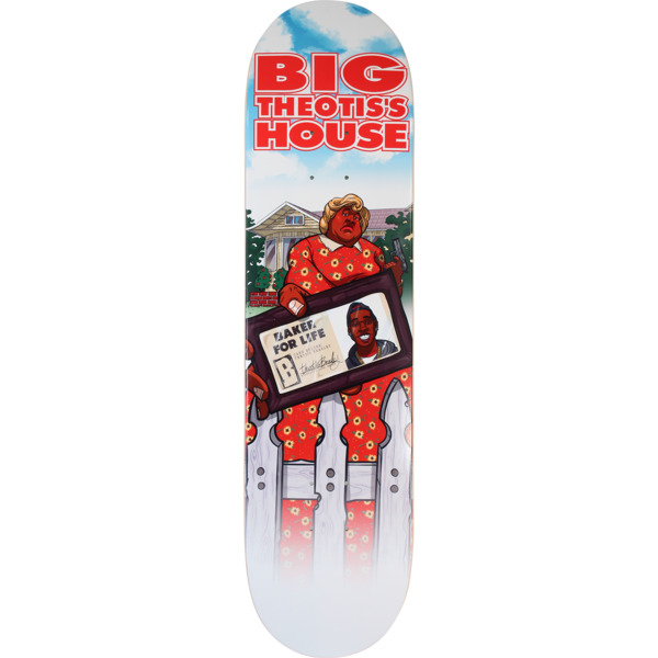 "Baker Skateboards Theotis Beasley Big Theo's House Skateboard Deck - 8"" x 31.5"""