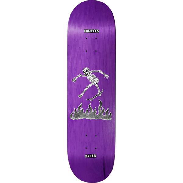 "Baker Skateboards Theotis Beasley Cremation Mayhem Skateboard Deck - 8.12"" x 31.875"""
