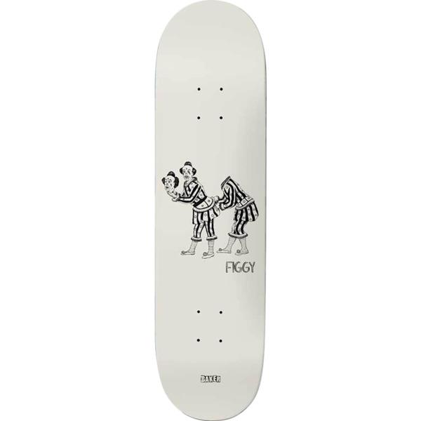 "Baker Skateboards Justin ""Figgy"" Figueroa Curiosities Skateboard Deck - 8.38"" x 32"""
