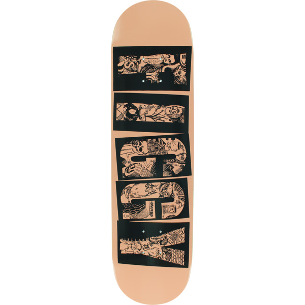 "Baker Skateboards Justin ""Figgy"" Figueroa Name Spew Skateboard Deck - 8"" x 31.5"""