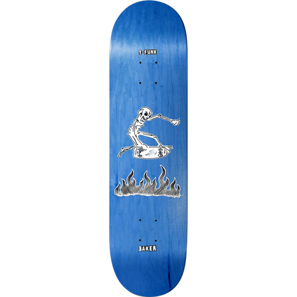 "Baker Skateboards Tristan Funkhouser ""T-Funk"" Creamtion Mayhem Skateboard Deck - 8.38"" x 32"""