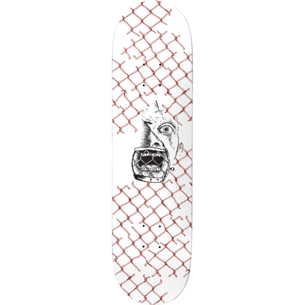 "Baker Skateboards Tristan Funkhouser Face Fools Skateboard Deck - 8"" x 31.5"""