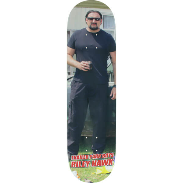 "Baker Skateboards Riley Hawk Trailer Park Boys Julian Skateboard Deck - 8"" x 31.5"""