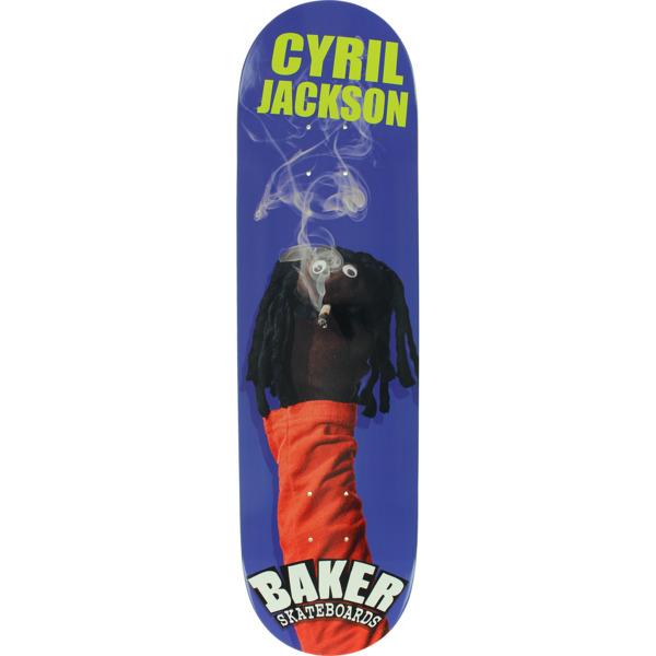 ee6f317d Baker Skateboards Cyril Jackson Sock Puppet Skateboard Deck - 8.25 x 31.875  - Warehouse Skateboards