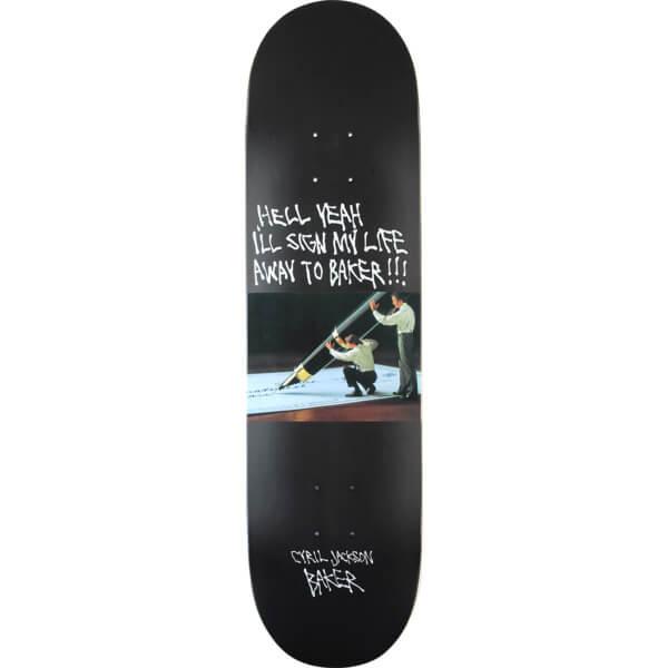 9c9c9fc7 Baker Skateboards Cyril Jackson Super Stock Skateboard Deck - 8.25 x 31.5 - Warehouse  Skateboards