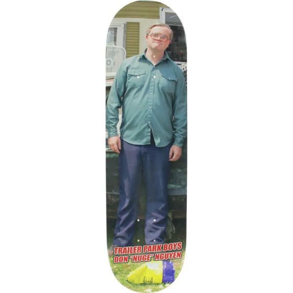 "Baker Skateboards Don Nguyen Trailer Park Boys Bubbles Skateboard Deck - 8.25"" x 31.875"""