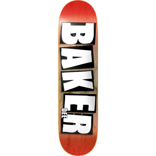 baker skateboards dee ostrander brand name skateboard deck