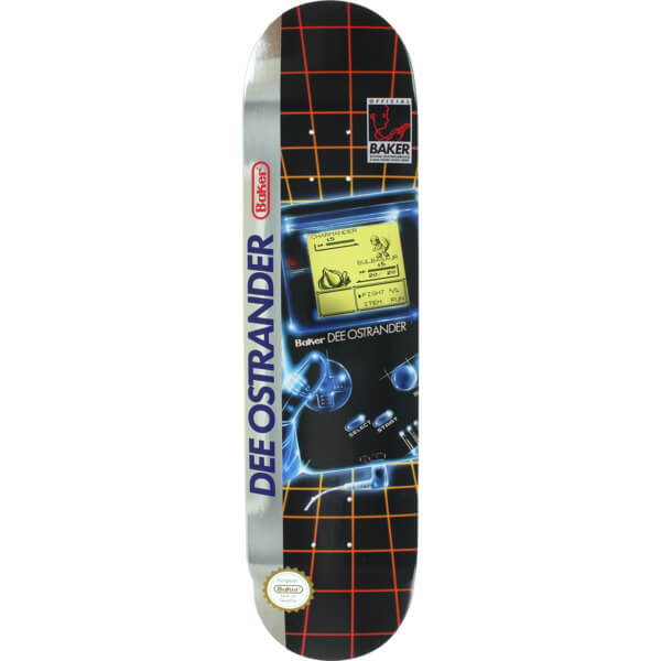 Baker Skateboards Gamer Deck