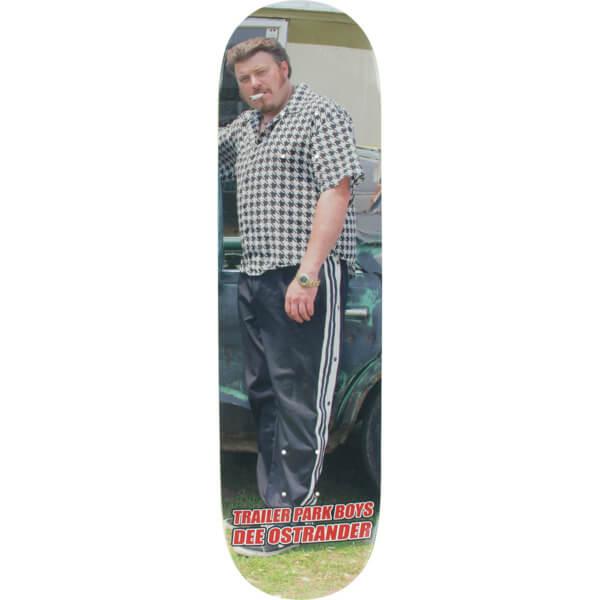 "Baker Skateboards Dee Ostrander Trailer Park Boys Ricky Skateboard Deck - 8.12"" x 31.5"""