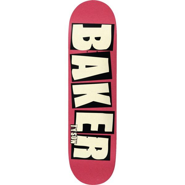 """Baker Skateboards Tyson Peterson Brand Name Flush Skateboard Deck - 8.47"""" x 31.875"""""""