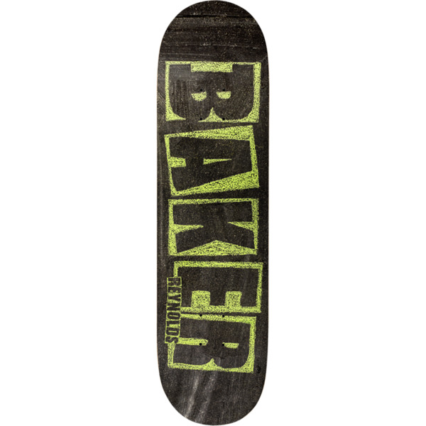 55b7ddb6ac Baker Skateboards Andrew Reynolds Brand Name Chalk Skateboard Deck - 7.75 x  31.25 - Warehouse Skateboards